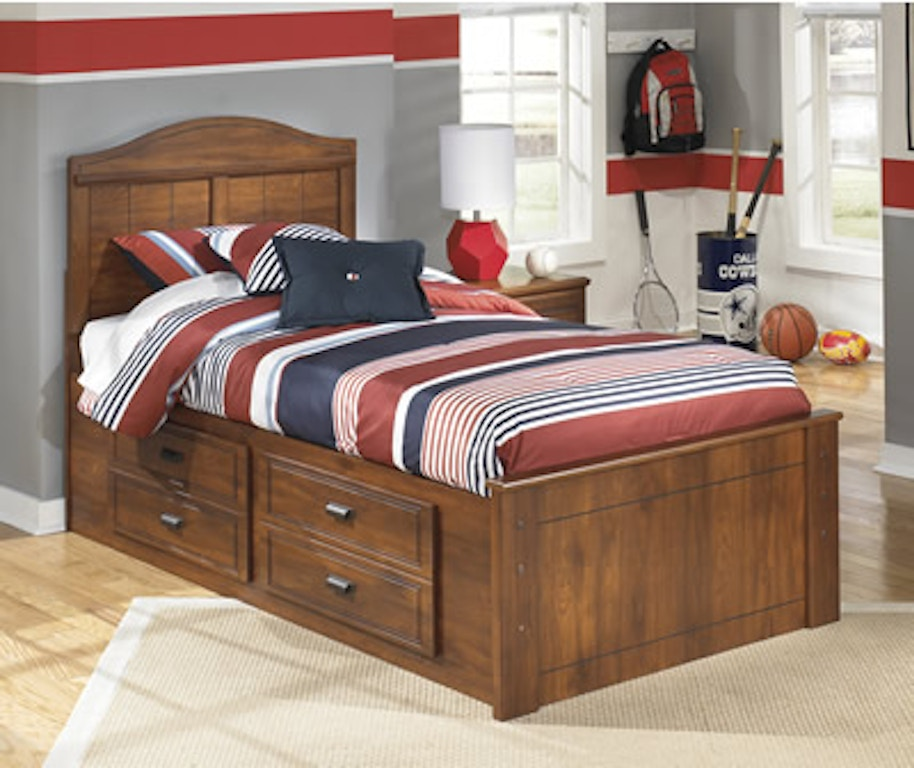 Signature Design By Ashley Youth Bedroom Twin Bed W Under Bed