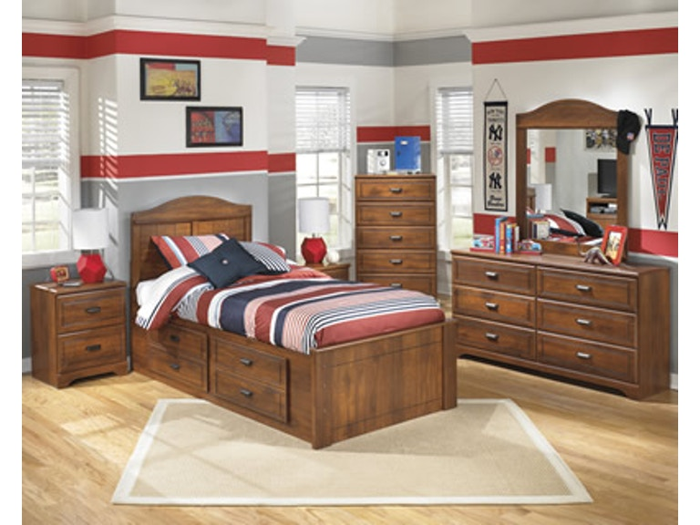 Signature Design By Ashley Youth Bedroom Twin Bed W Underbed