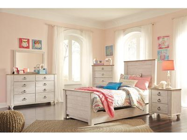 Signature Design By Ashley Youth Bedroom Twin Trundle Underbed