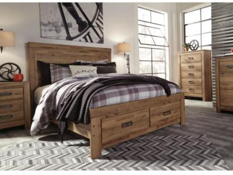 Signature Design By Ashley Bedroom Cinrey King Storage Group B369 31