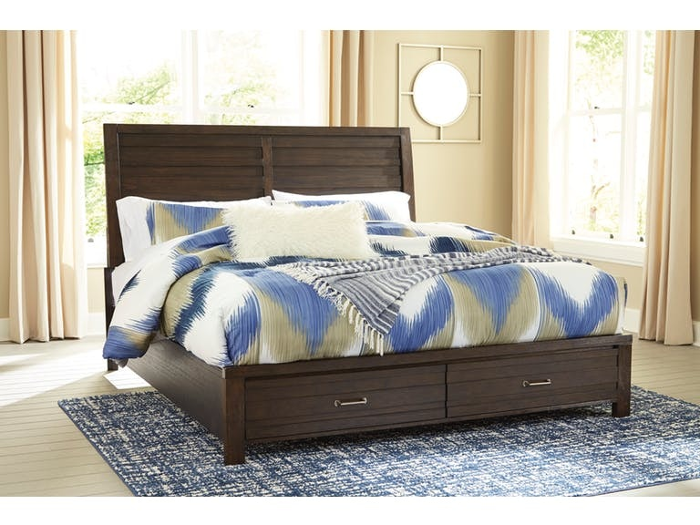 Signature Design By Ashley Bedroom Queen Storage Bed B574 5754s196