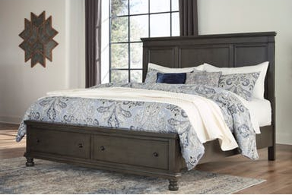 Signature Design By Ashley Bedroom King Storage Bed B624 5856s97