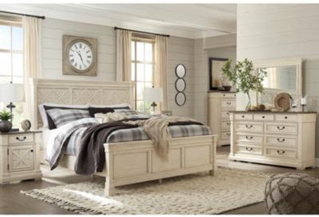Signature Design by Ashley Bedroom Bolanburg King Panel ...