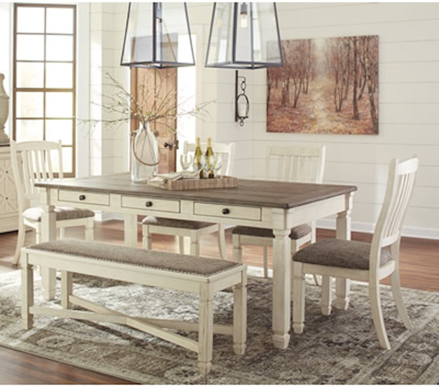 Designer Discount Furniture: Signature Design By Ashley Bolanburg 5PC Collection D647