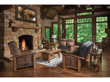 Amish Oak And Cherry Living Room Group By Kimbolton 1030