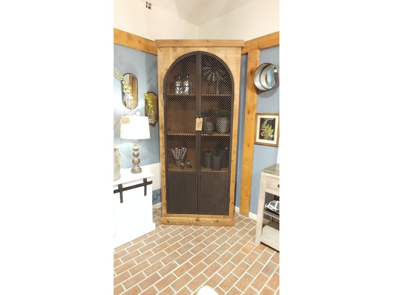 Tall Metal Door Cabinet By Nest Home Collections