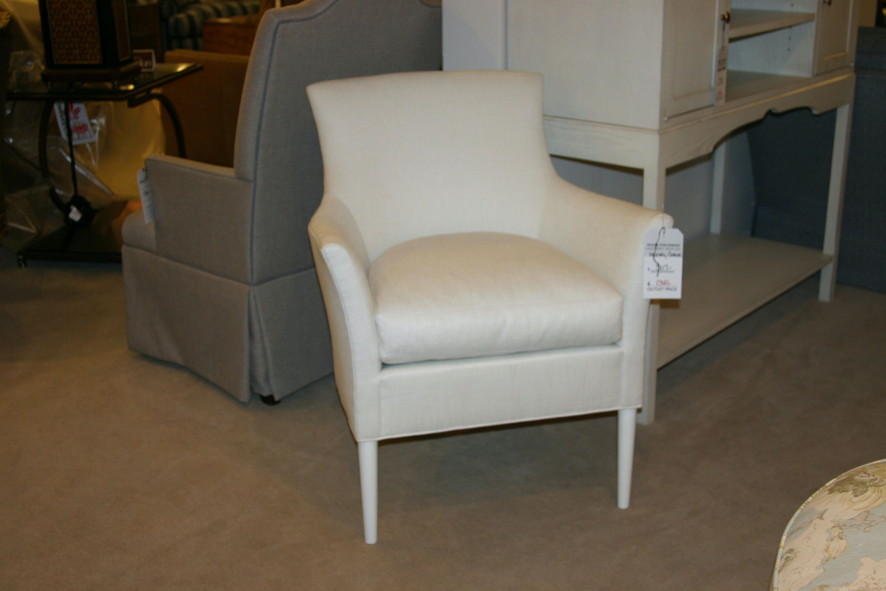 Hickory Chair Factory Outlet Living Room Suzanne Kasler Chastian Chair By  Hickory Chair (SKU: 1509 23) Is Available At Hickory Furniture Mart In  Hickory, ...