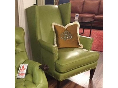 fa51211f016 Reflections Furniture Outlet Leather Chair by Whittemore Sherrill 174-CH