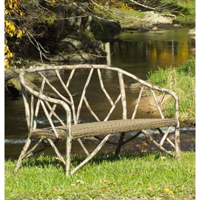 Seasons Outdoor And Sunroom Gallery By Hickory Park OutdoorPatio Whitecraft  Woolrich River Run Love Seat (SKU: 18258) Is Available At Hickory Furniture  Mart ...