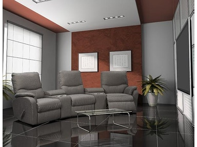 Leather And More Home Theater Seating By El Ran 2066 Htc