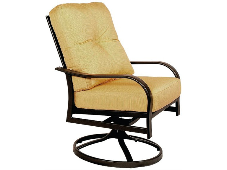 Outdoor Furniture By Amish Oak And Cherry Outdoorpatio Swivel Rocker