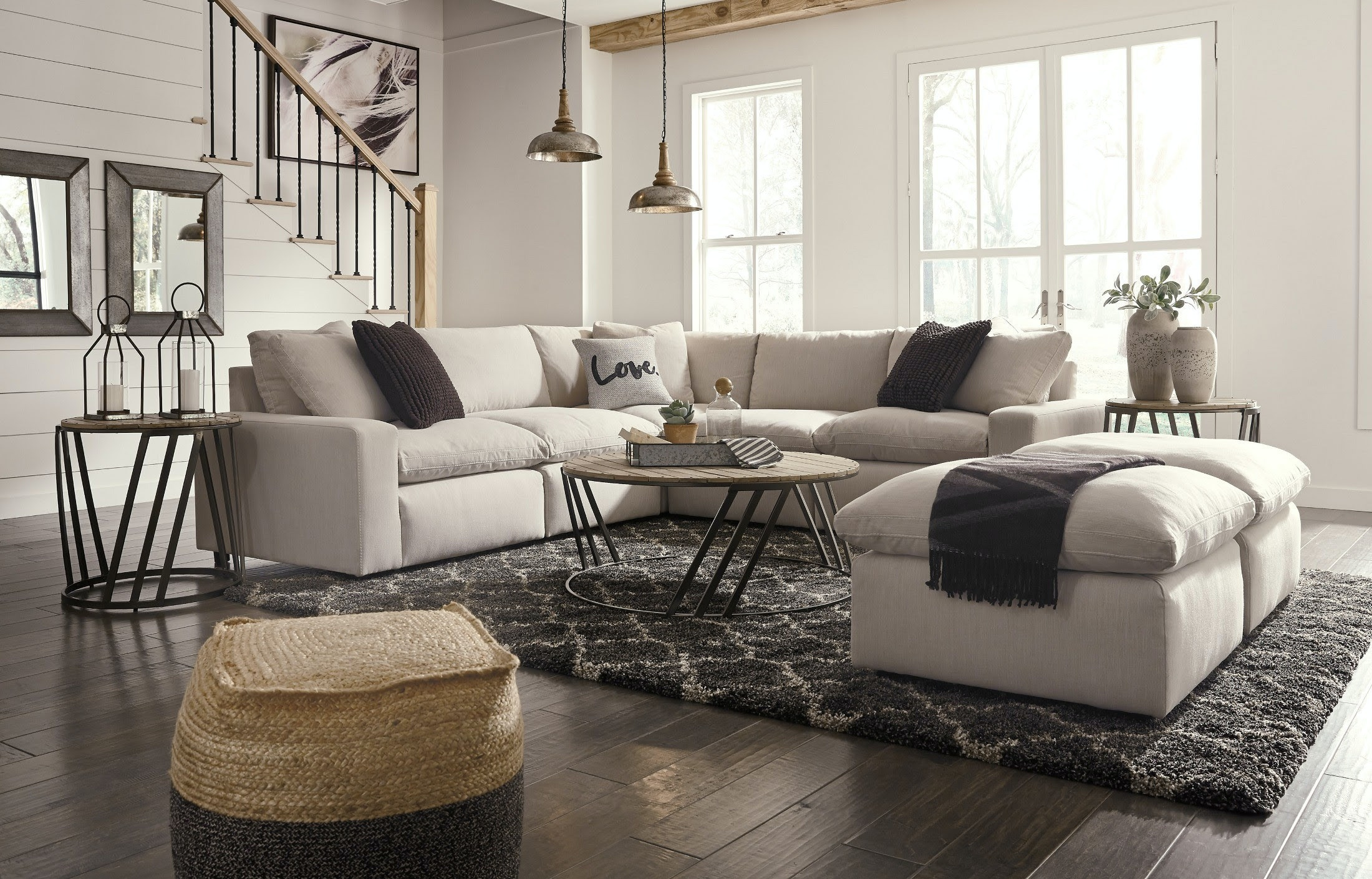 Simply Home by Lindy's Furniture Living Room Savesto Sectional by Ashley (SKU: 31102)