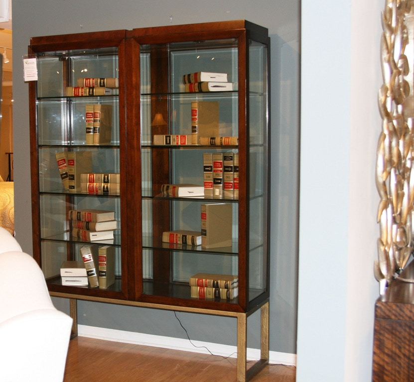Living Room Modern Artefacts Cabinet By Thomasville Furniture Sku 83390 029 Clearance Is Available At Hickory Mart In