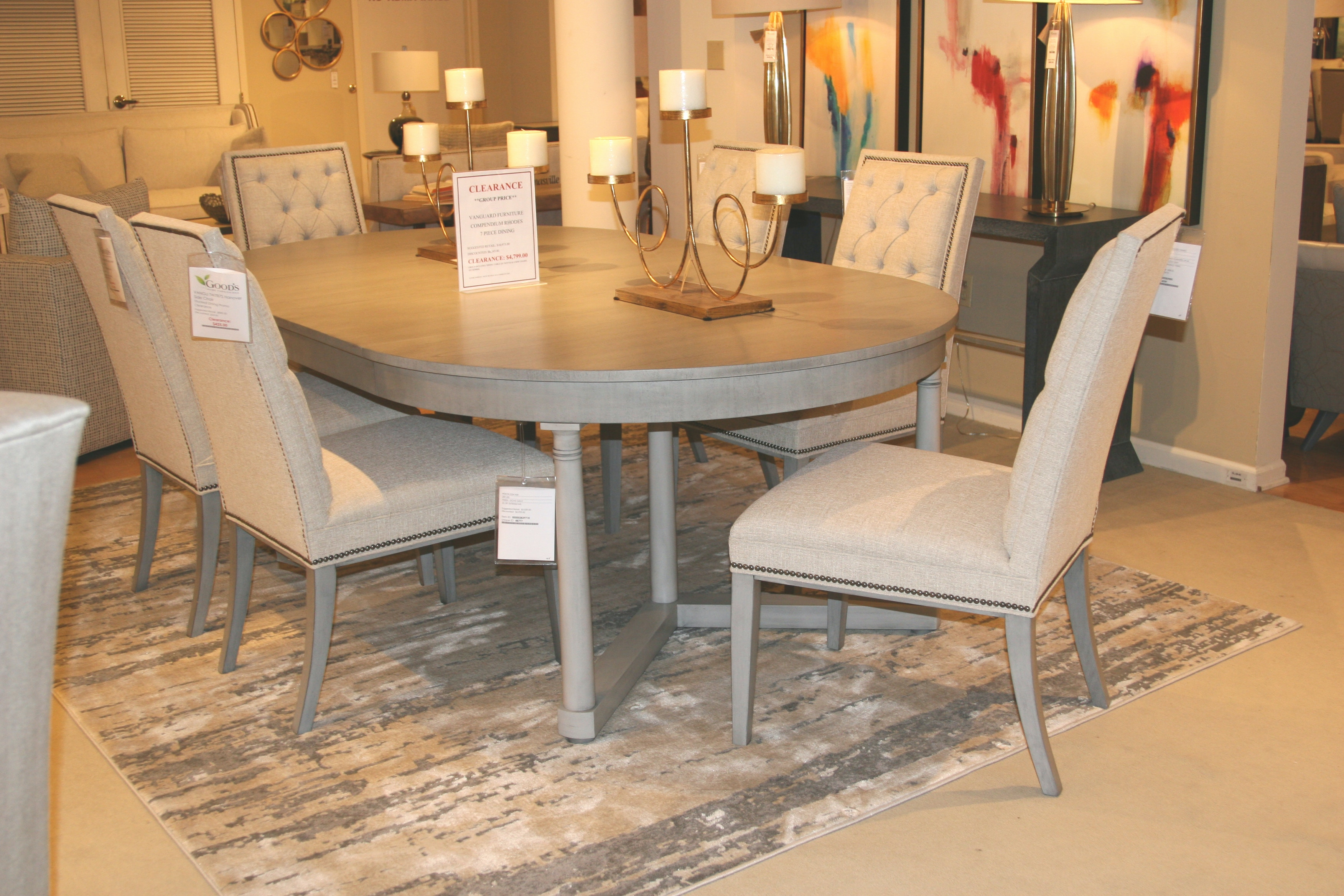 Exceptionnel Vanguard Furniture Factory Outlet By Goodu0027s Compendium Callas Dining Table  8708T