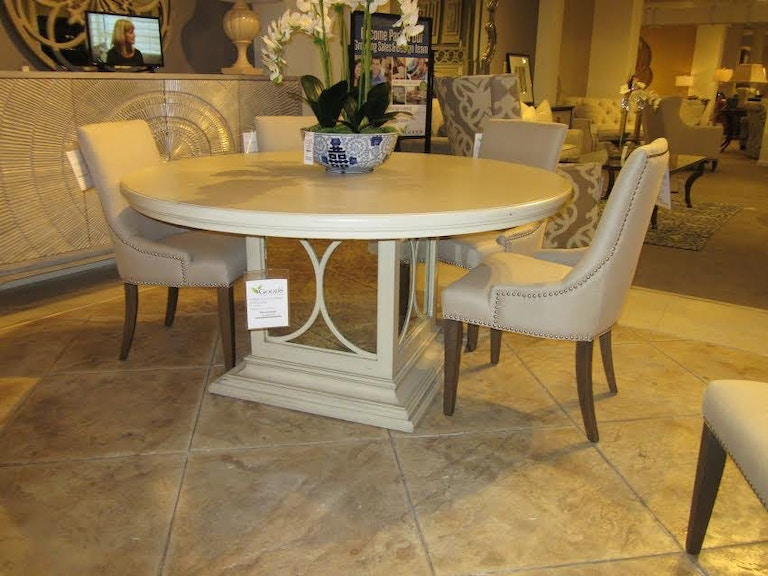 Goods Furniture Outlet Moderne Chelsea Dining Table By Habersham 03 3710 Clearance
