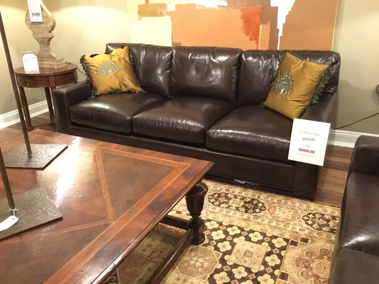 Reflections Furniture Outlet Whittemore Sherrill Leather Sofa 434 Sofa