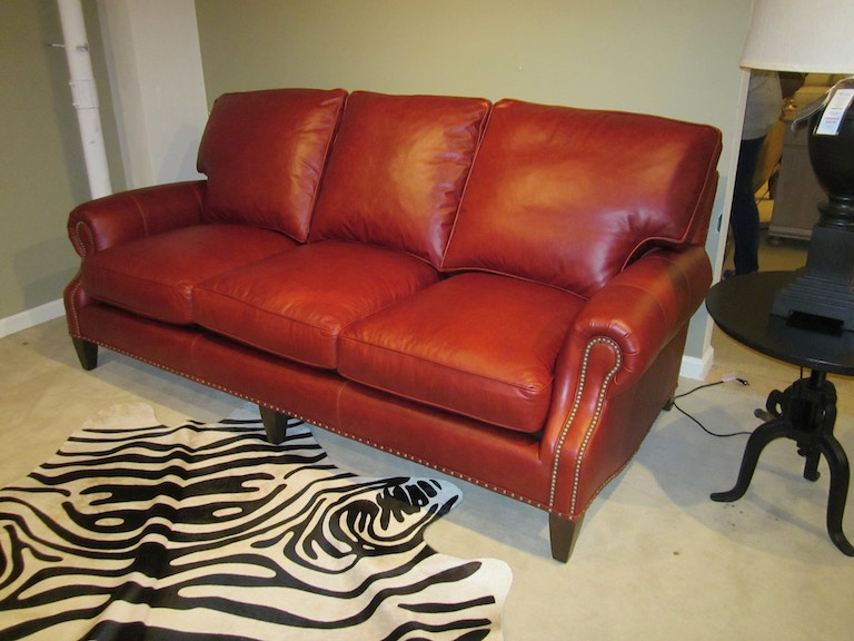 Vintage Impressions Leather Sofa by Our House Designs