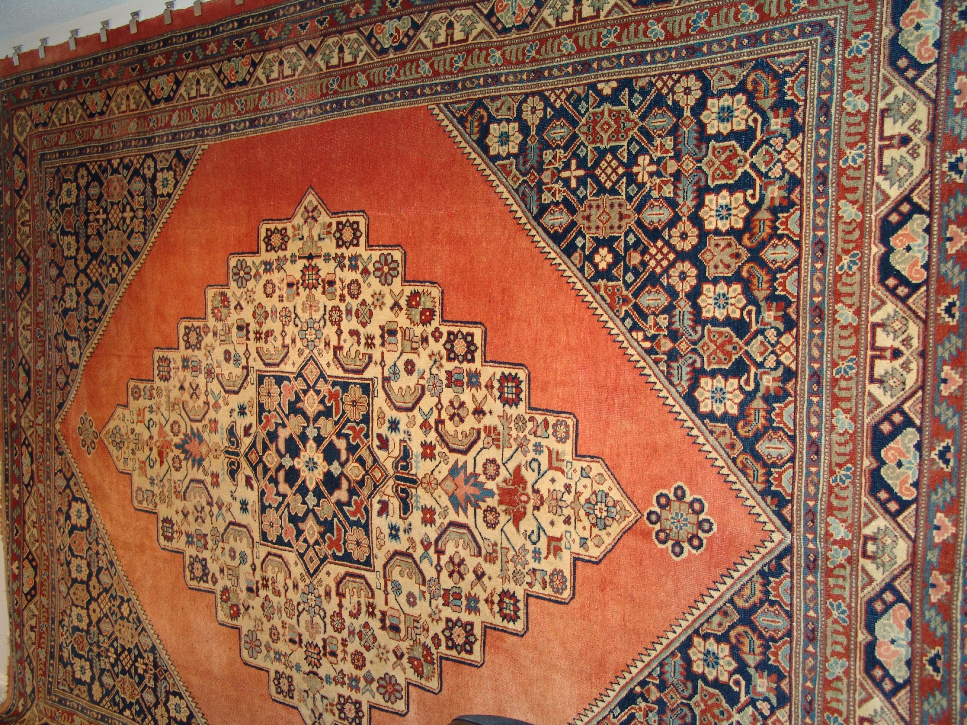 Fine Unique Antique Persian (SKU: 6113)