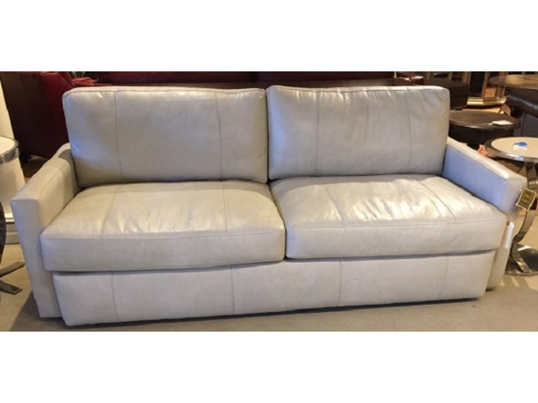 Heritage Furniture Outlet Brittain Leather Sofa By Bradington Young 615 95