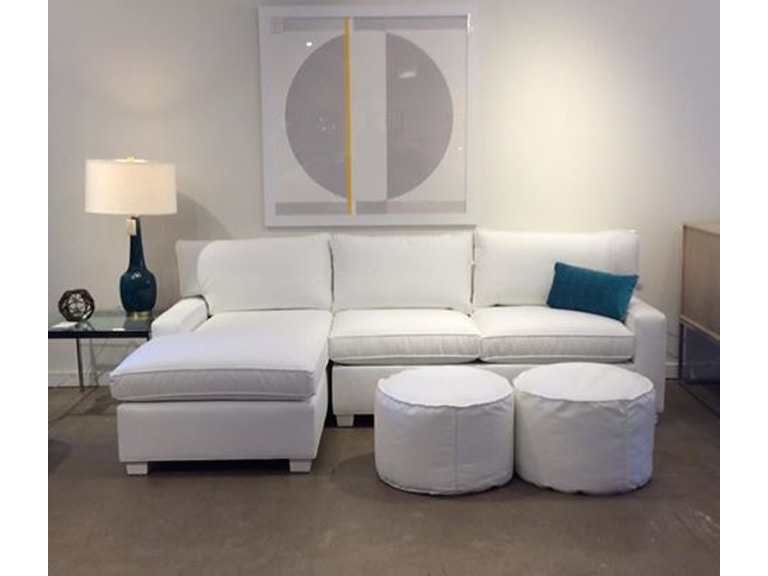 Mitchell Gold Bob Williams Factory Outlet Living Room 2pc Sectional With Full Sleeper In