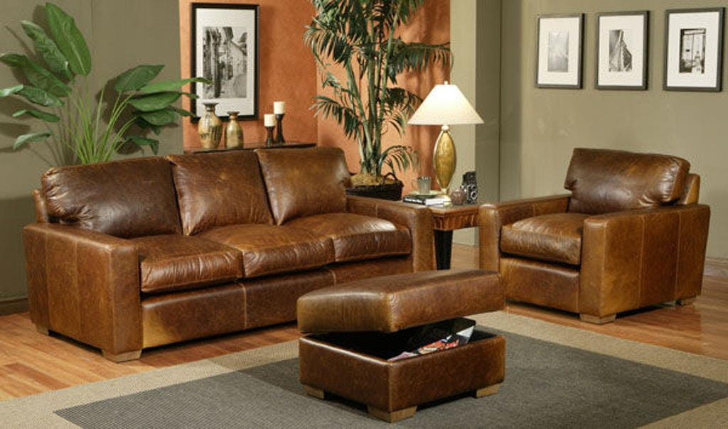 Leather And More Living Room American Classic Sofa Made In Usa 420 Hickory Furniture Mart