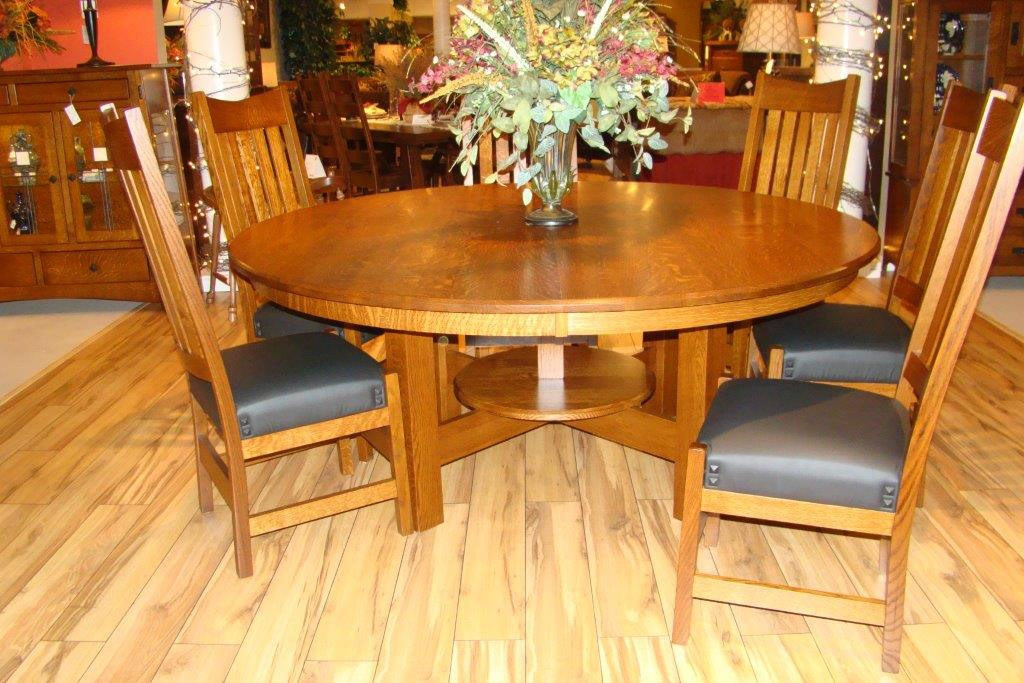 Amish Oak And Cherry Dining Room Solid Wood Dining Table Made In The Usa Avery Dining Hickory