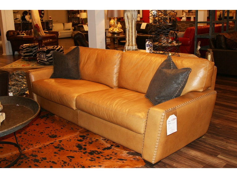 Leather Society By Reflections Sofa Eleanor Rigby Co City Cowboy 30