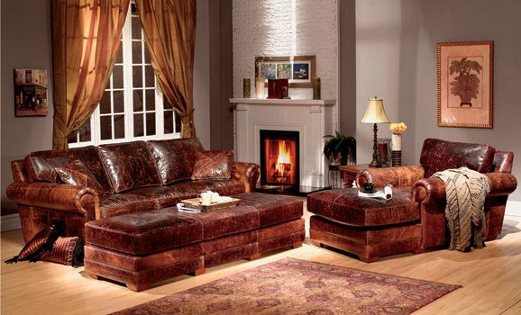 Cool Leather And More Living Room Top Grain Leather Sofa And Pabps2019 Chair Design Images Pabps2019Com