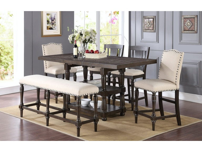 Simply Home By Lindys Furniture Dining Room Excalibur Counter Table Winners Only SKU Dxt13678x Is Available At Hickory Mart In