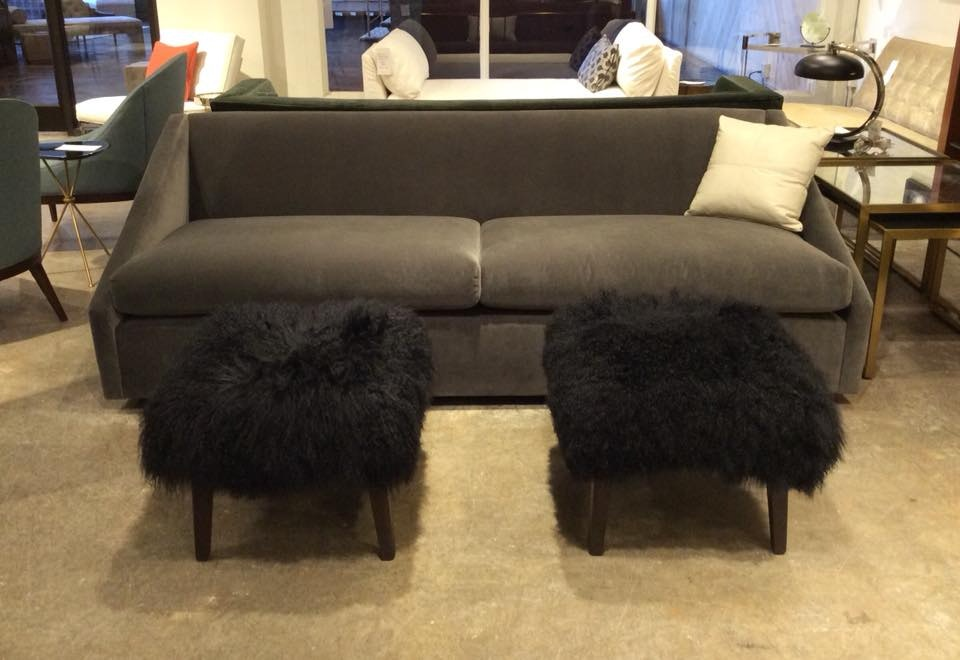 Delicieux Mitchell Gold + Bob Williams Factory Outlet Gunner 93u201d Sofa In  Boulevard~Graphite.