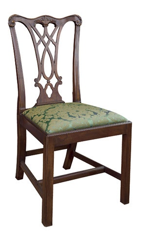 Charmant Henkel Harris Furniture Chippendale Side Chair 107S