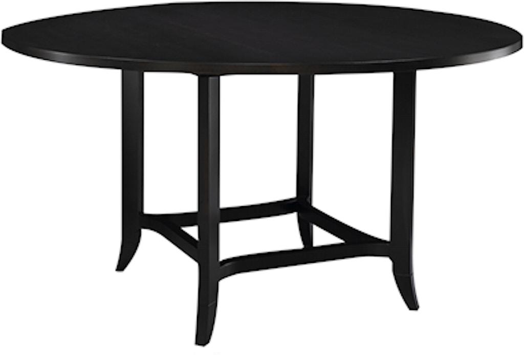 Henkel Harris Furniture Dining Room Round Dining Table Henkel 447 Hickory Furniture Mart