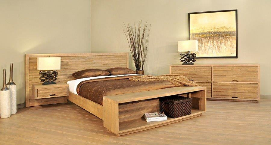 Amish Oak And Cherry Solid Wood Bedroom Group Ledgrock