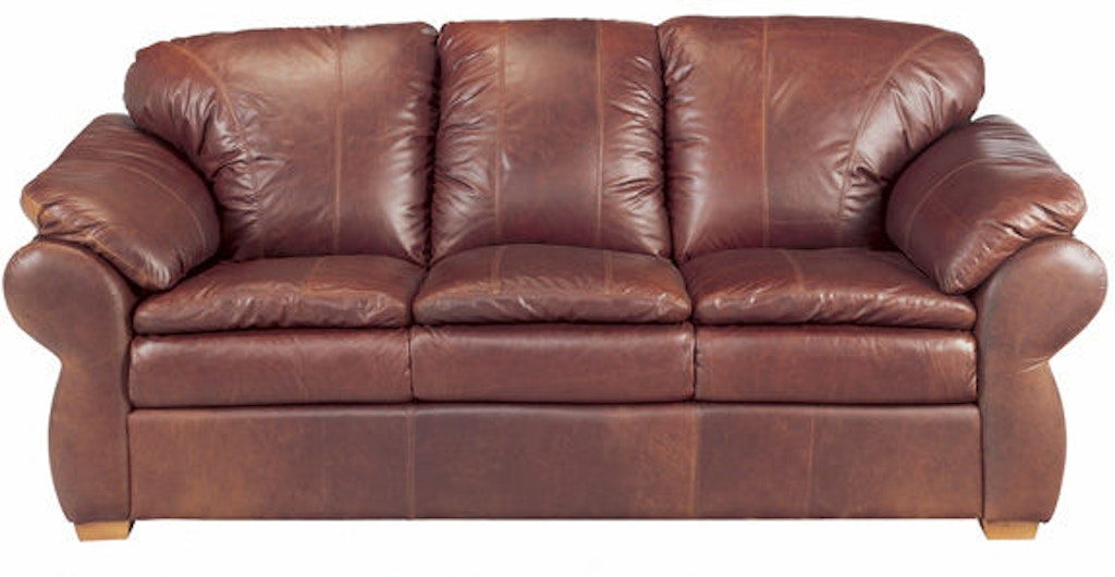 Leather And More Living Room Legacy Leather Sofa Calgary