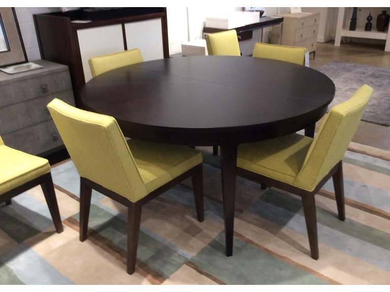Mitchell Gold Bob Williams Factory Outlet Dining Room 60 Inch Table With Leaf SKU Newell 1 Is Available At Hickory Furniture Mart In