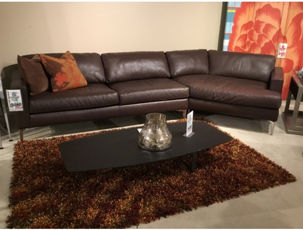 Terrific Oliver Leather Sectional By American Leather Alphanode Cool Chair Designs And Ideas Alphanodeonline