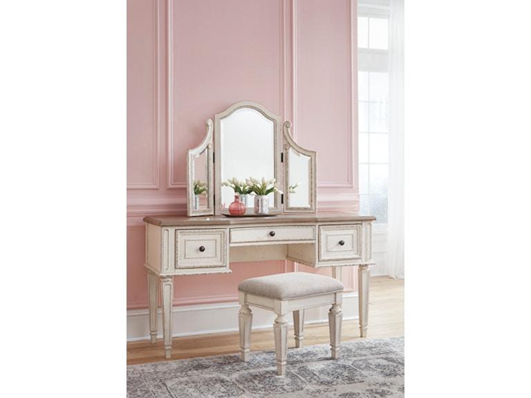 Fantastic Realyn Vanity Mirror And Stool Machost Co Dining Chair Design Ideas Machostcouk