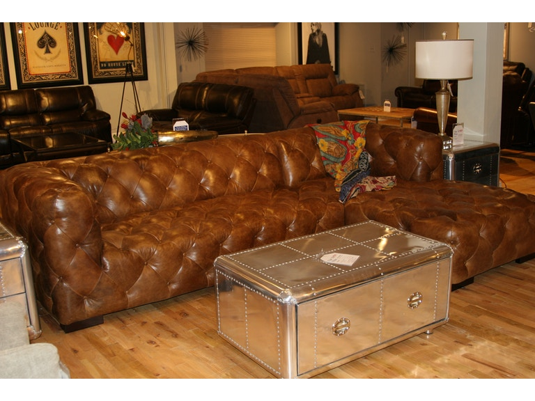 Astounding Tufted Leather Sectional By Rf Modern Pabps2019 Chair Design Images Pabps2019Com