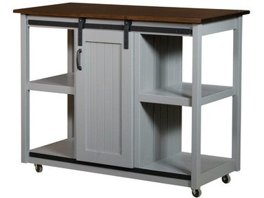 Amish Oak And Cherry Kitchen Islands   Hickory Furniture ...