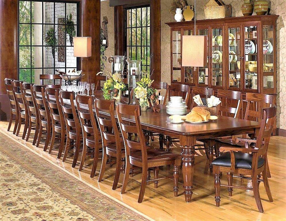 Amish Oak and Cherry Dining Room Dining Group Made In USA Savannah |  Hickory Furniture Mart |