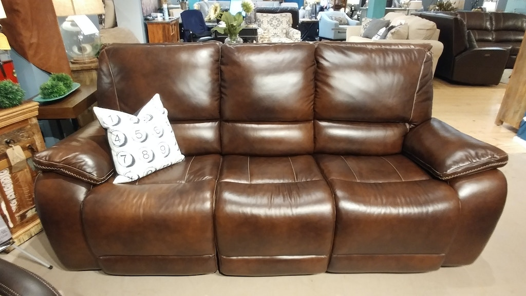 Leather Power Recliner Sofa by Parker House Living