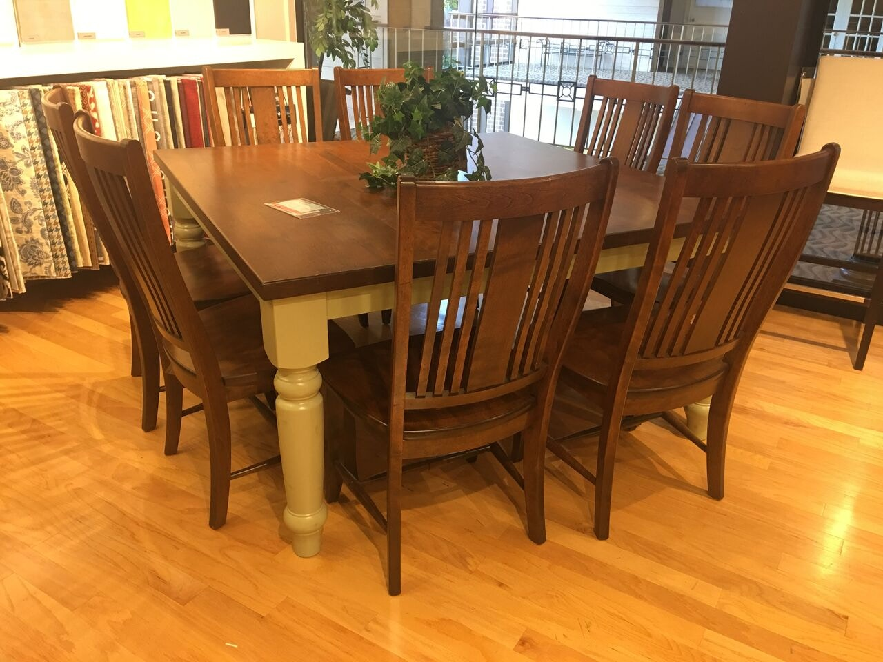 Hickory Park Furniture Outlet 60x60 Dining Table Group By Canadel Furniture  TSQ 0 60601468AHATF