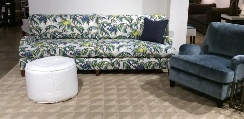 Mitchell Gold + Bob Williams Factory Outlet 92 Inch Sofa In Sam Whitley 3