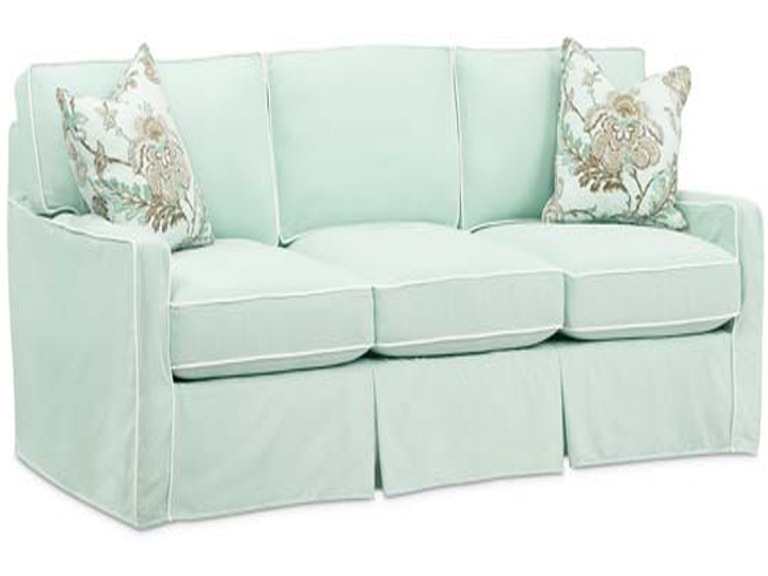Southern Style Fine Furniture Hannah Slipcover Sofa By Washable Wonders 3