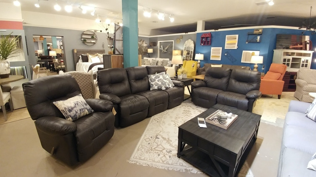Simply Home by Lindy\'s Furniture Living Room Leather Sofa ...