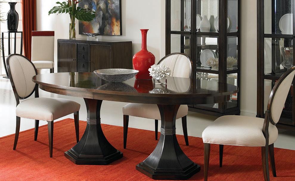 Beau Hickory White Dining Room Inspiration 1