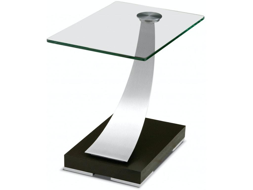 Elite Modern Tangent End Table