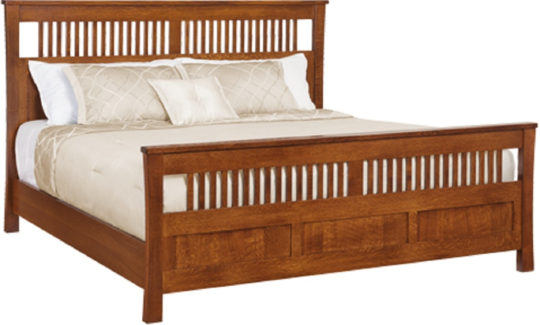 Keystone Collections Morris Panel Bed