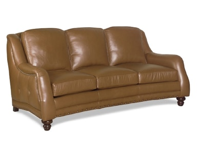 Carolina Custom Leather Reagan sofa 881-03
