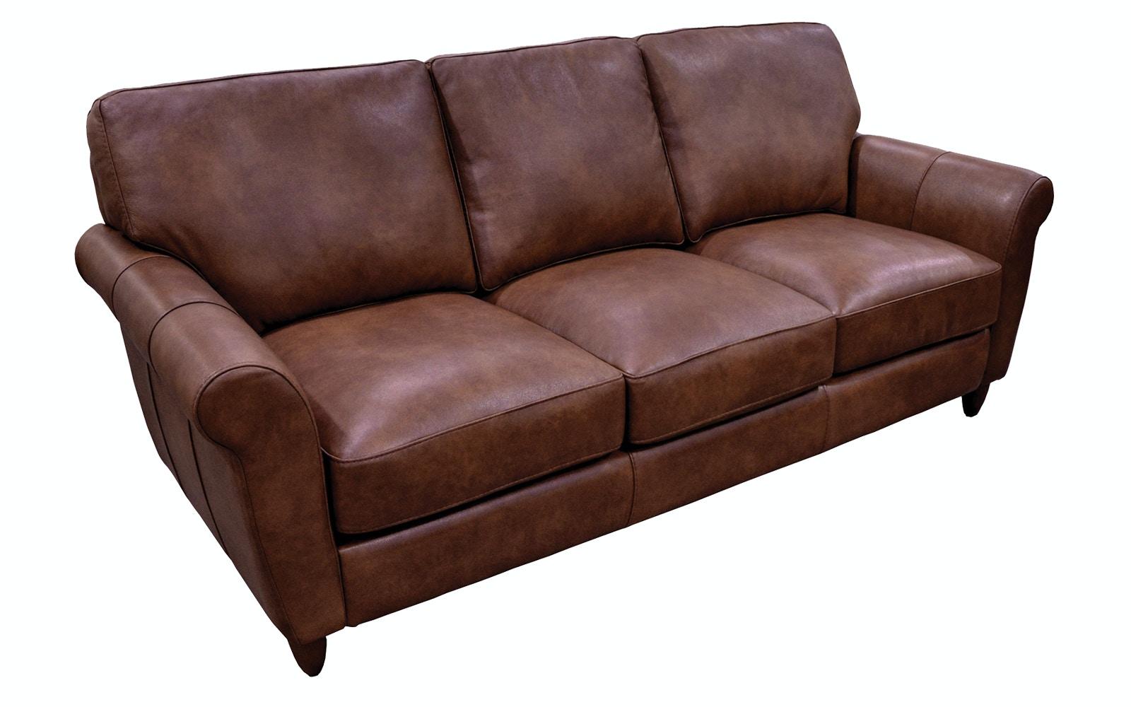 - Omnia Leather Cameo Sofa